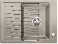 Мойка кухонная Blanco ELON 45S SILGRANIT PuraDur (жемчужный), 524817