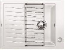 Мойка кухонная Blanco ELON 45S SILGRANIT PuraDur (белый), 524818