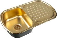Кухонная мойка Zorg Inox PVD SZR 7749 BRONZE
