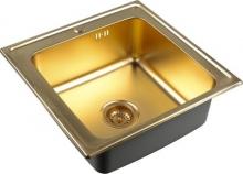 Кухонная мойка Zorg Inox PVD SZR 5050 BRONZE