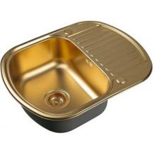 Кухонная мойка Zorg Inox PVD SZR-6249 BRONZE