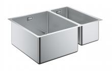 Кухонная мойка из нержавеющей стали, основная чаша слева, монтаж под столешницу, Grohe K700U 31577 SD0 (31577SD0)