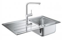Кухонная мойка из нержавеющей стали с смесителем, оборачиваемая Grohe K500 31573 SD0 (31573SD0)
