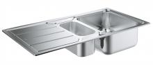 Кухонная мойка из нержавеющей стали с корзинчатым вентилем, оборачиваемая, Grohe K500  31572 SD0 (31572SD0)