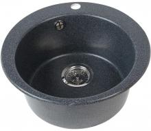 Кухонная мойка Акватон Иверия черная 1A711032IV100