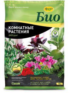 """Грунт """"для комнатных растений"""" 10л """"Фаско био"""" - все для сада, дома и огорода!"""