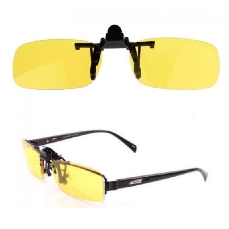 Антибликовые очки клипсы для водителей Night View Clip Ons