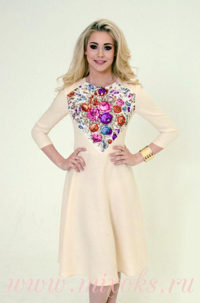 Платье летнее мини