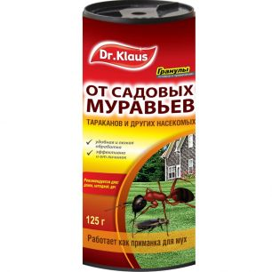 """Средство от муравьев и др.  насекомых """"Dr. Klaus"""" (Гранулы) 125г - все для сада, дома и огорода!"""