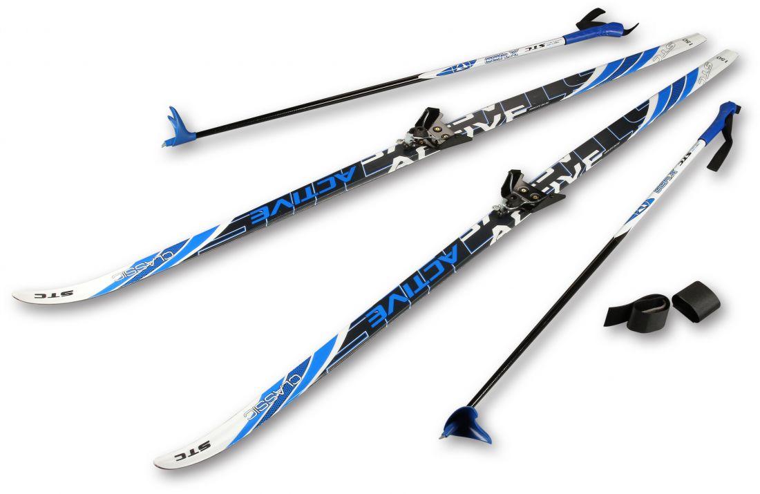 Лыжный комплект STC CA-023 пластиковый 1,5м