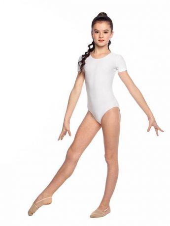 Купальник для гимнастики белый