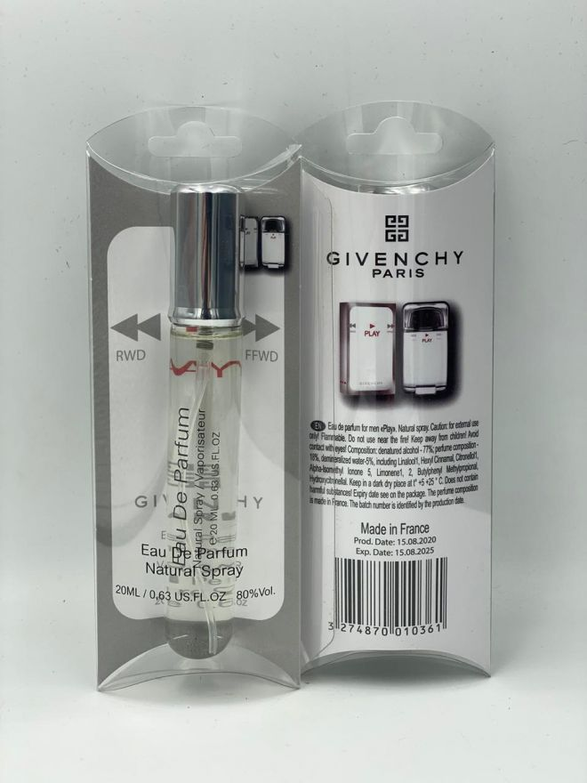 Givenchy Play For Him 20 мл