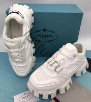 Мужские кроссовки Prada белые купить в интернет магазине