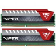 Оперативная память Patriot Viper Elite 8G KIT (2x4G) DDR4 2800MHz (PVE48G280C6KRD) RED