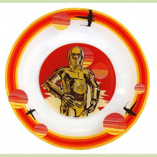 Тарелка Звёздные Войны. Дарт Вейдер 19,5 см стекло
