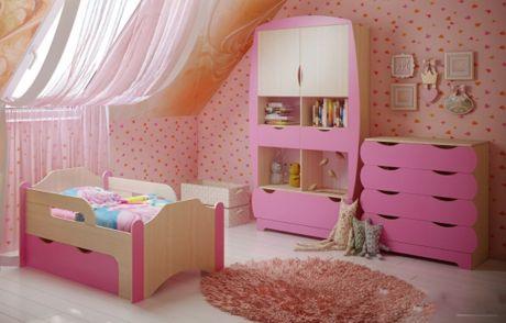 Мебель для девочки Вырастайка комната 2