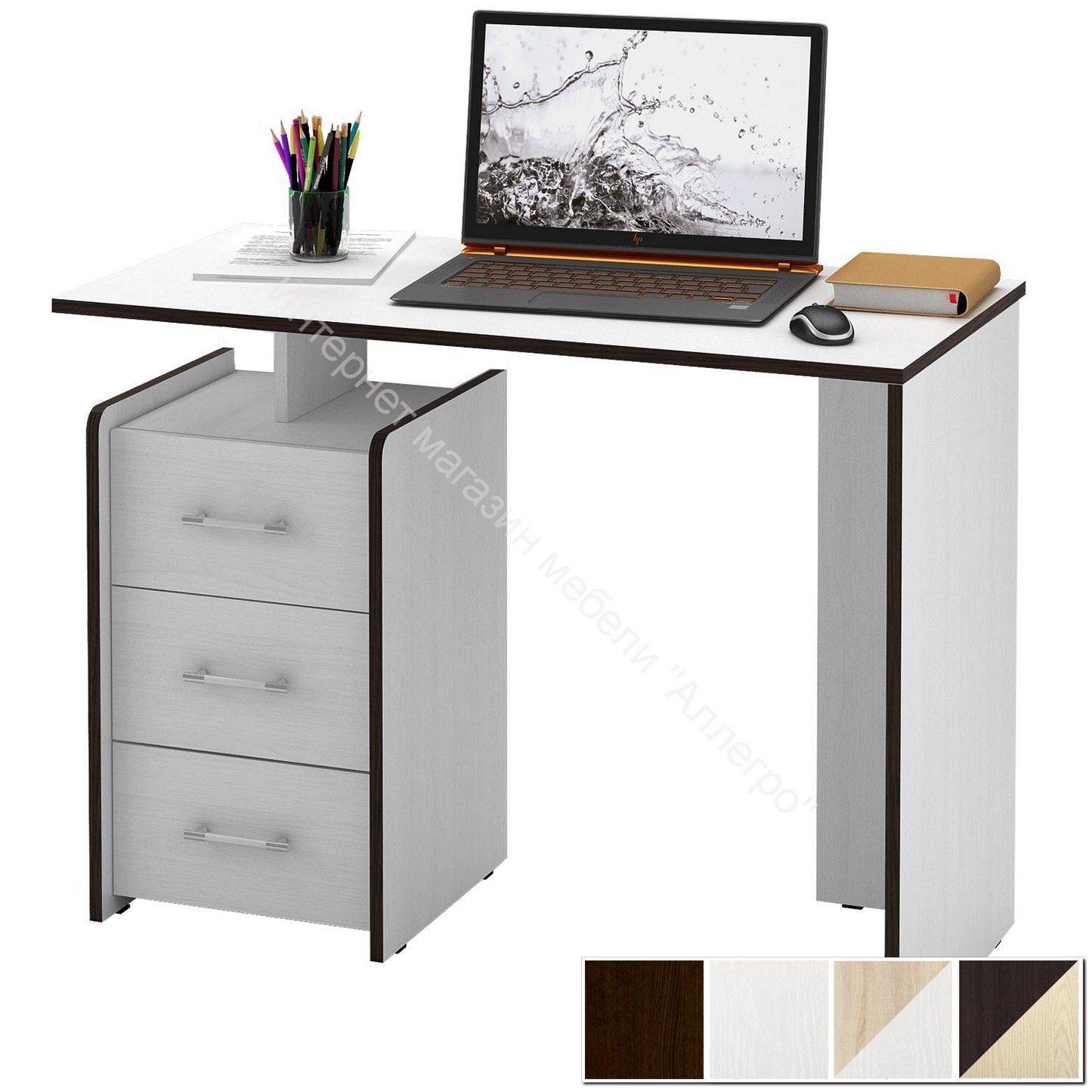 Стол компьютерный Слим 1 прямой