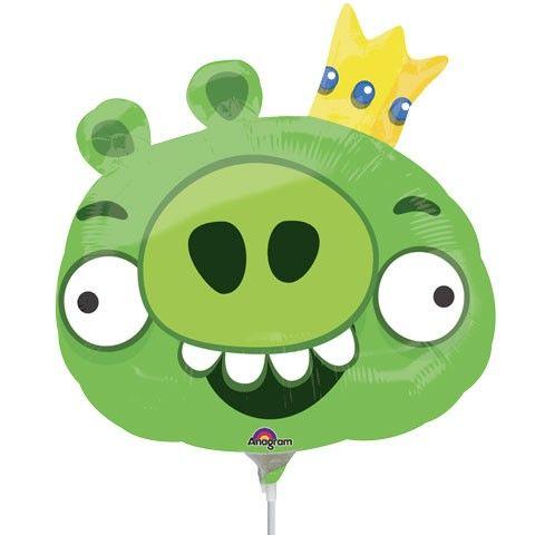 Король свиней фигурный шар фольгированный с гелием