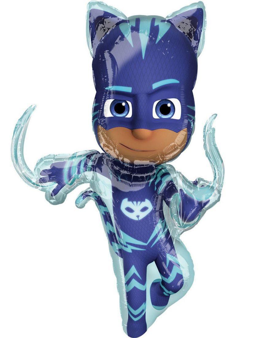Коннор Кэтбой герои в масках фольгированный шар с гелием