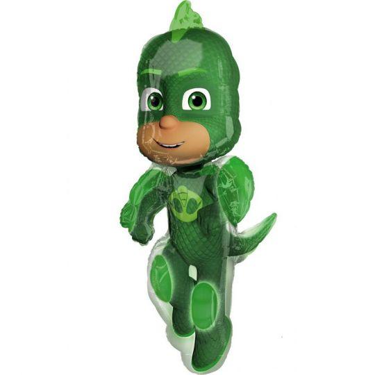 Грег Гекко герои в масках фигурный шар фольгированный с гелием
