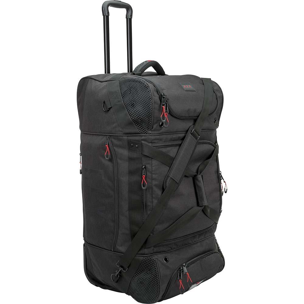 Fly Racing Roller Grande Bag Black сумка для экипировки на колесах черная
