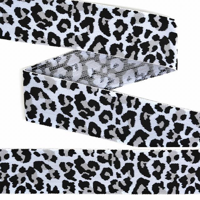 резинка декоративная леопард