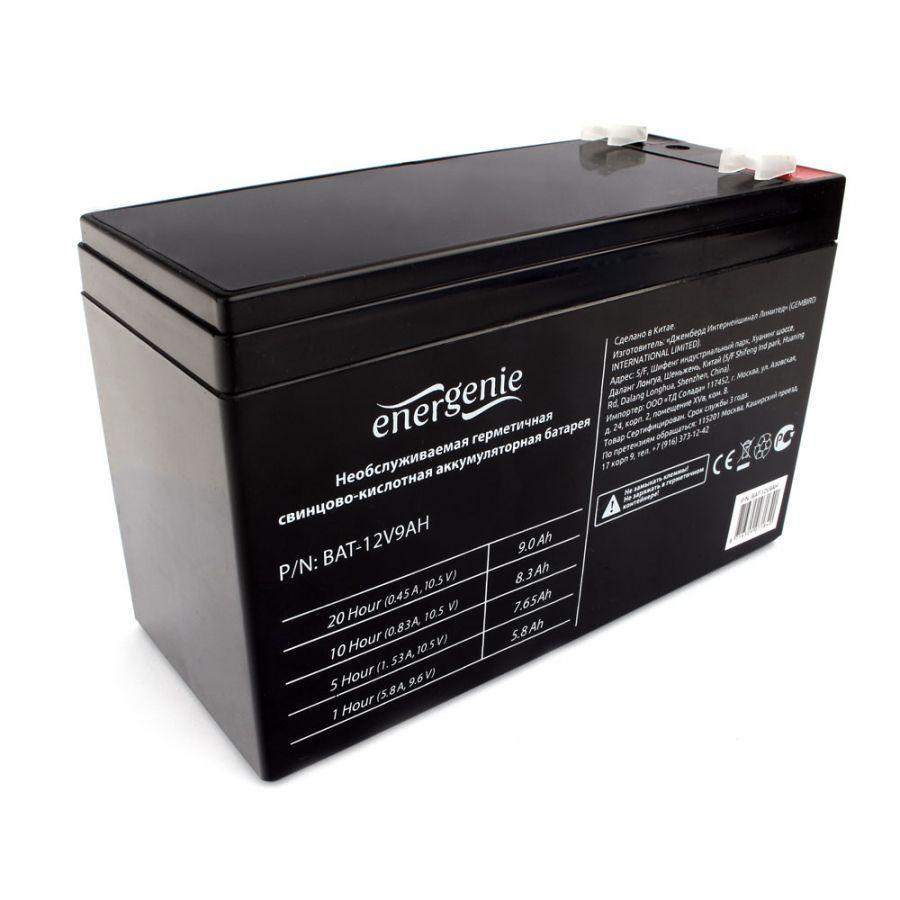 Аккумулятор для Источников Бесперебойного Питания Energenie BAT-12V9AH