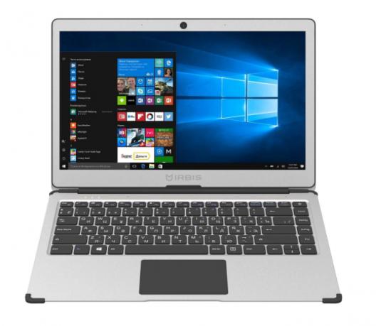 "13.3"" Ноутбук Irbis NB500, серебристый"