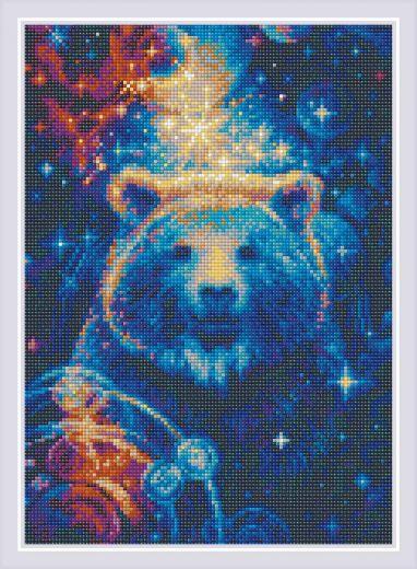 Набор для выкладывания стразами Большая медведица АМ0050 фирма Риолис