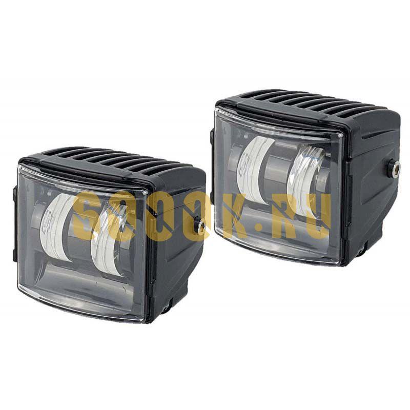 Комплект светодиодных фар 40Вт с границей света