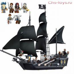 Конструктор KAKU Пираты Карибского Моря Черная жемчужина K19001 (4184) 858 дет