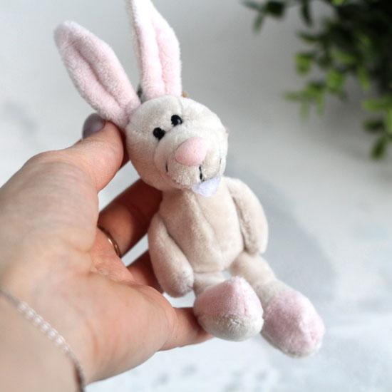 Игрушка для куклы - Зайчик NICI , 11 см