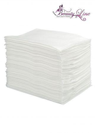 Полотенца одноразовые белые 45/90 серия ПРОМО - 50 штук.