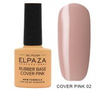 Elpaza  Rubber Base Cover Pink  02  10 мл