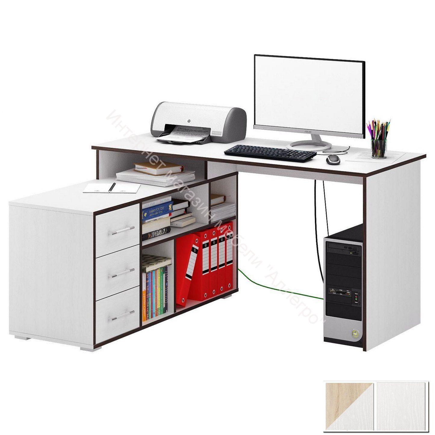 Стол компьютерный Краст 02 угловой