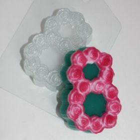 Форма для мыла и шоколада 8 Марта/Розы