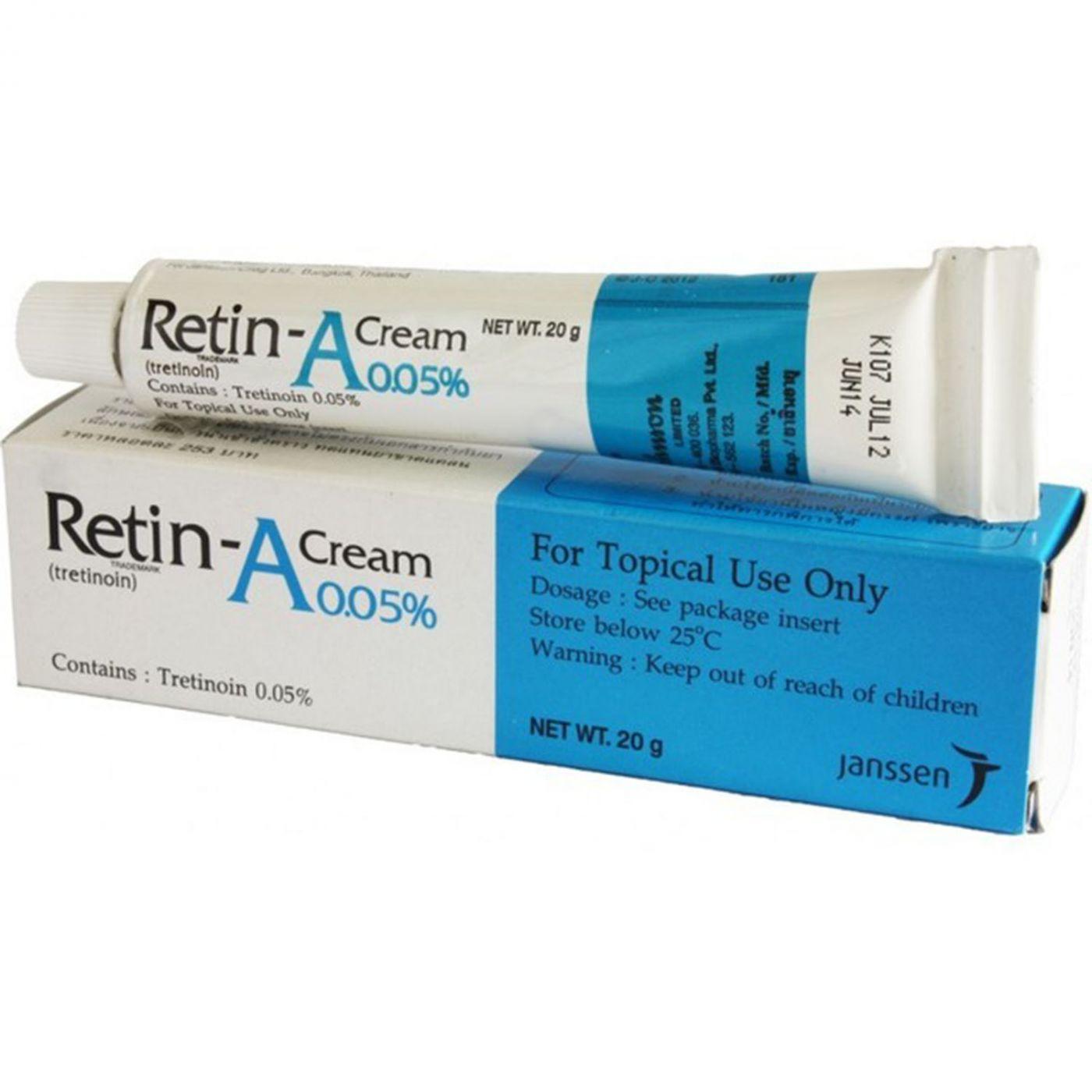 Ретин-А (Retin-A) крем для лица против акне и пигментации 20 гр