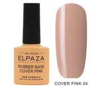 Elpaza  Rubber Base Cover Pink  04   10 мл
