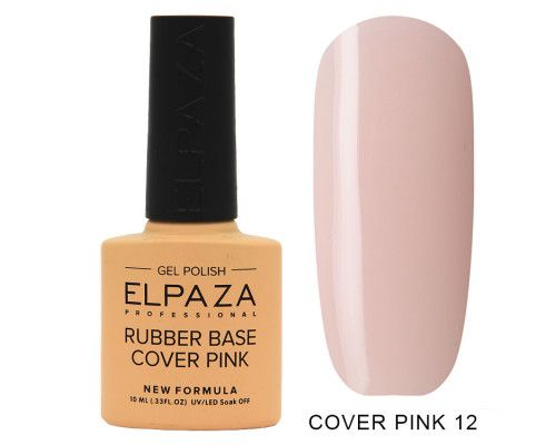 Elpaza  Rubber Base Cover Pink 12    10 мл