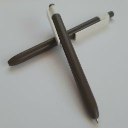 коричневые ручки с логотипом