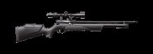 Винтовка пневматическая PCP KRAL Puncher MAXI 3 - Крал Панчер Макси 3 калибр 6.35 мм, пластиковое ложе + РАЗГОН