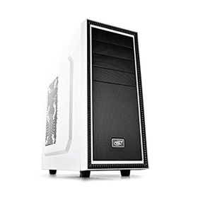 Корпус компьютерный Deepcool TESSERACT WH White-Black