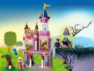 Конструктор King ПринцессыСказочный замок Спящей Красавицы 25012 (41152) 360 дет