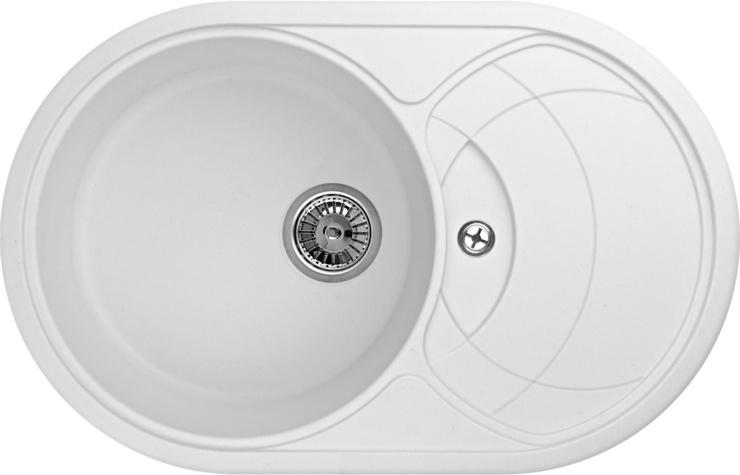 Кухонная мойка Granula GR-7801, арктик