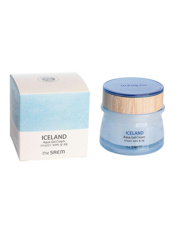 Крем-гель для лица увлажняющий The Saem Iceland Aqua Gel Cream 60мл