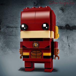Конструктор LEPIN BRICK HEROES Флэш 43027 (Аналог LEGO BrickHeadz 41598) 137 дет