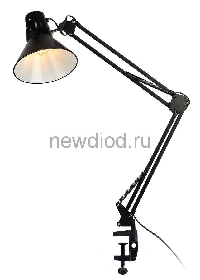 Настольный светильник N-121-E27-40W-BK черный ЭРА