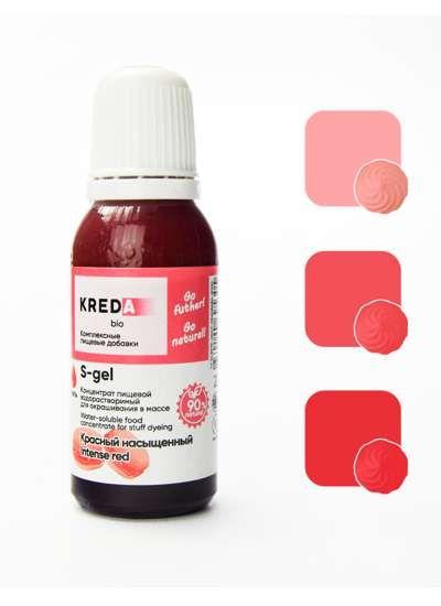 S-gel 12 красный насыщенный, концентрат универс. для окраш.(20мл)