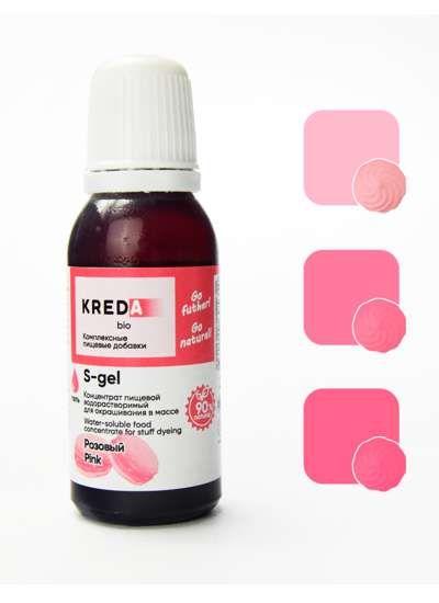 S-gel 20 розовый, концентрат универс. для окраш. (20мл)