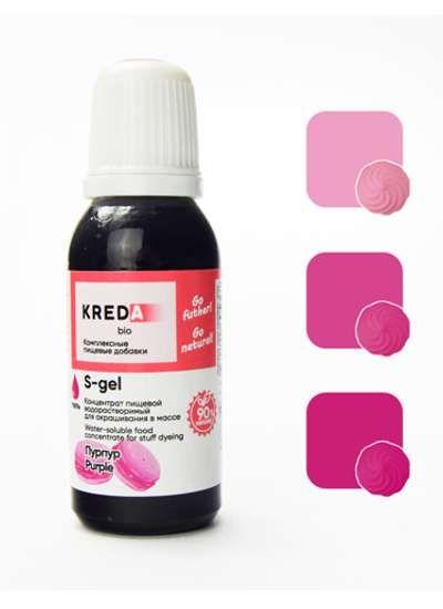 S-gel 25 пурпур, концентрат универс. для окраш. (20мл)